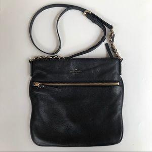 Kate Spade Black Crossbody Zip Bag